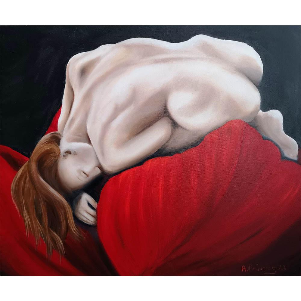 Andrea Bräuning, 2013, Maße 50cm x 60cm, Öl auf Leinwand